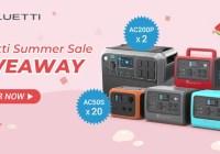 BLUETTI Off-grid Power BLUETTI Summer Sale Giveaway