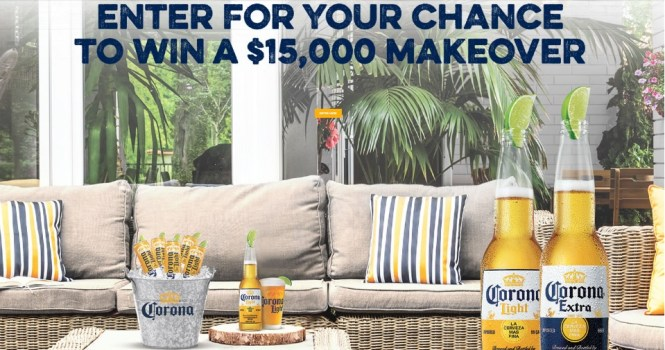 Corona Light Perfect Your Space Sweepstakes