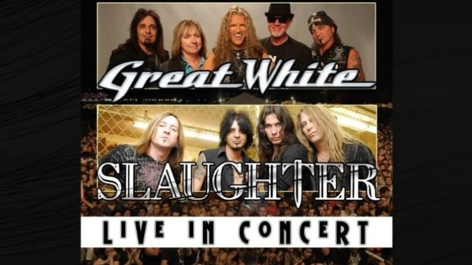 Great White And Slaughter At MGM Northfield Park Sweepstakes