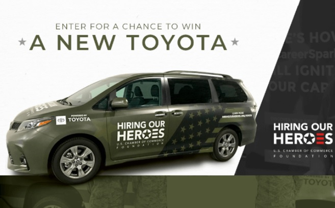 Hiring Our Heroes Committed To America Heroes Sweepstakes
