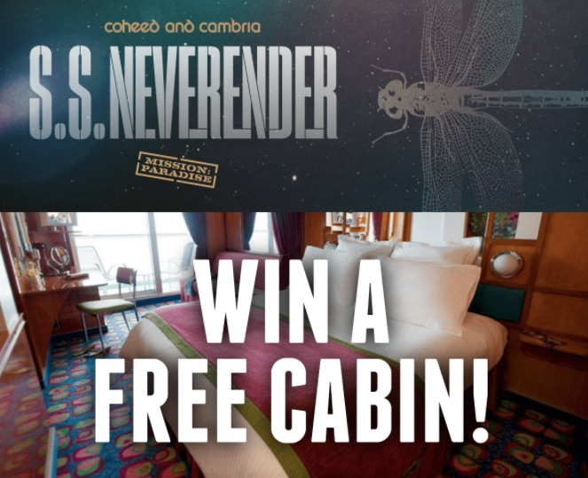 Coheed And Cambria SS Neverender Giveaway