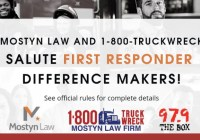 Mostyn Law First Responder Difference Makers Contest
