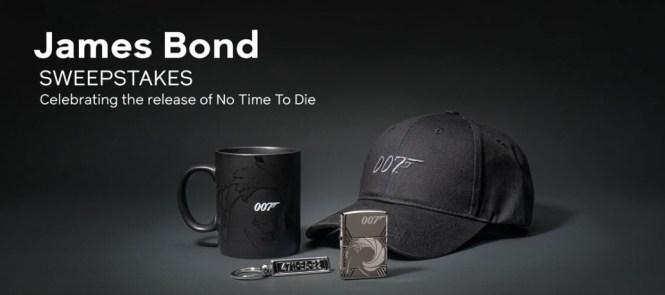Zippo Manufacturing Company James Bond Sweepstakes