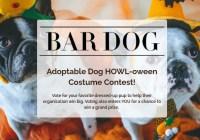 Bar Dog Wine Howl-Oween Contest