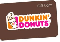 Dunkin Halloween Instant Win Game Sweepstakes