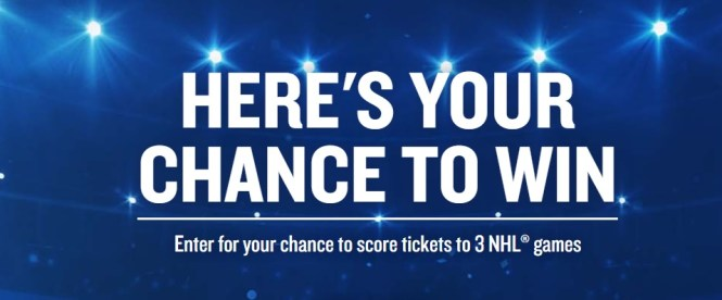 E. And J. Gallo Winery New Amsterdam Vodka NHL OND Sweepstakes