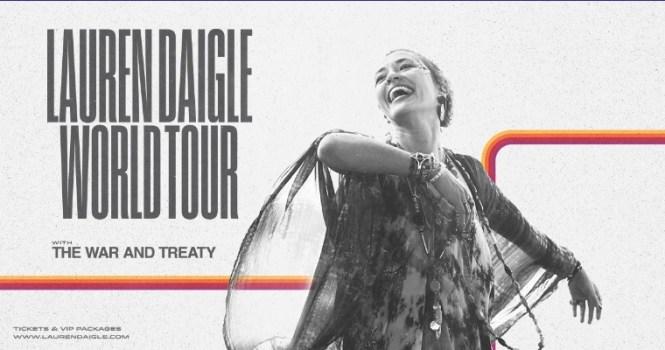 Lauren Daigle World Tour SiriusXM Sweepstakes