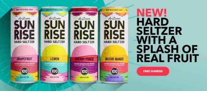Sunrise Seltzer Palm Springs Flyaway Instant Win Game Giveaway