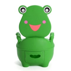 Frog Potty Chair Counter Chairs Amazon Wish Baby Toilet Training Toddler Cute Cartoon Boys Girls Drawer Child Kids