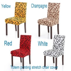 Chair Covers Wish Wheelchair Near Me 20 Styles High Quality Stretch Removable Washable Short Dining Cover Soft Milk Silk Spandex Printing Slipcover For Wedding Party