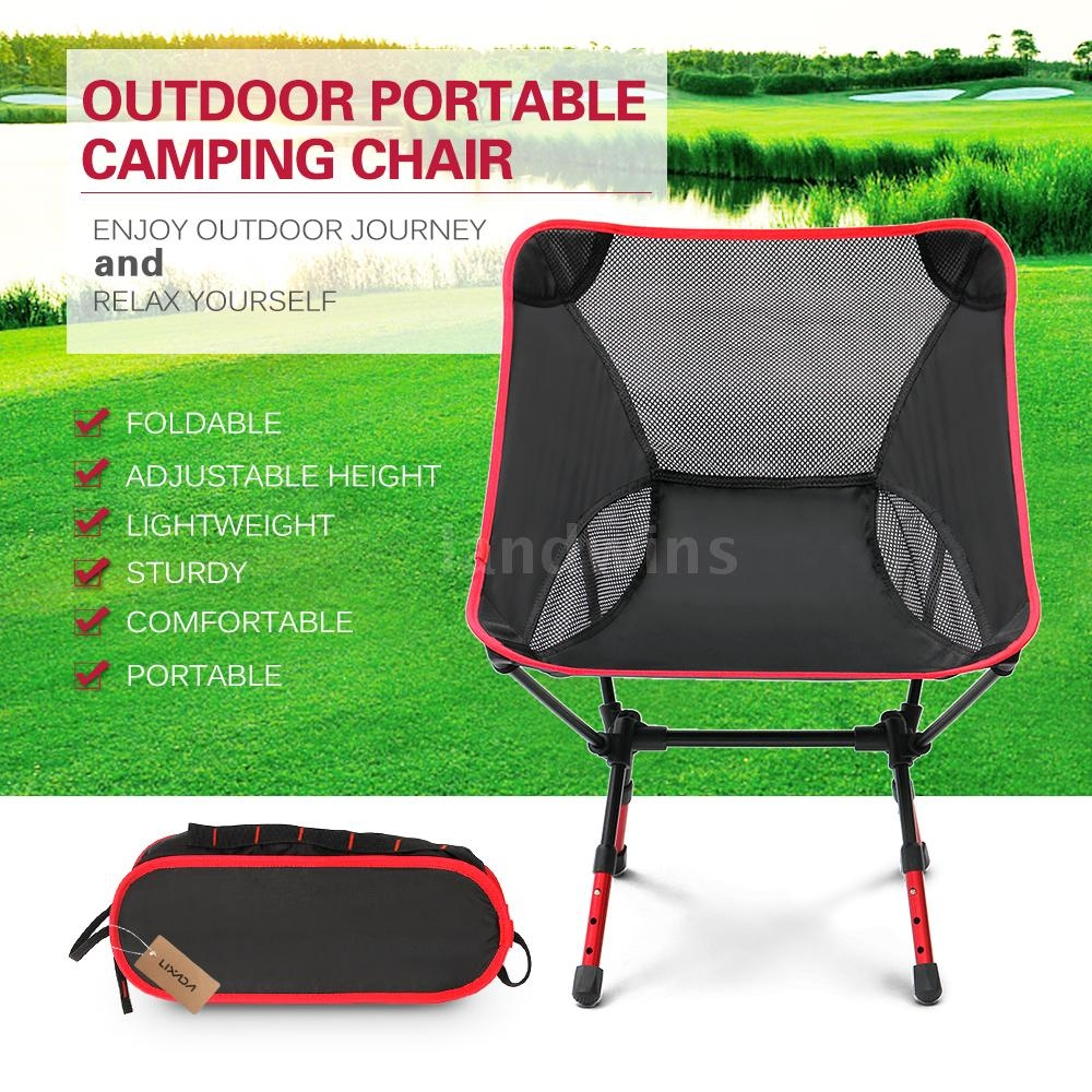 Sturdy Camping Chair 2018 New Portable Fashion Adjustable High Altitude Light Folding Chair Outdoor Camping Beach Chair Outdoor Chair Fishing Chair
