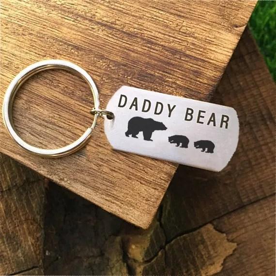 bear gift idea keychain