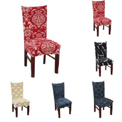 Chair Covers Wish High Office Chairs Spandex Stretch Cover Banquet Dining Slipcovers