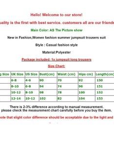 Wish uk hot fashion ladies women summer jumpsuit sleeveless clubwear wide leg pant outfits also rh