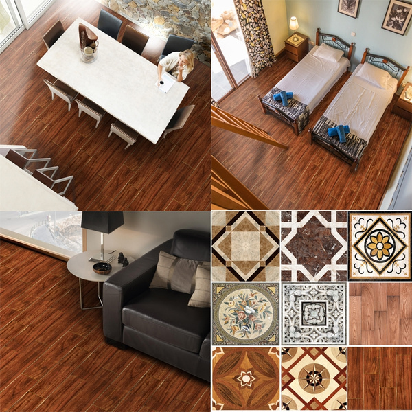 pack of 15 tile pattern stickers wall