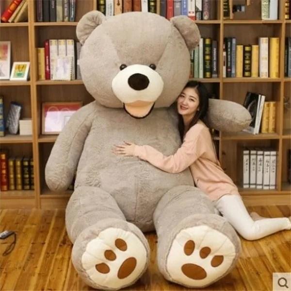 4 colors teddy bear