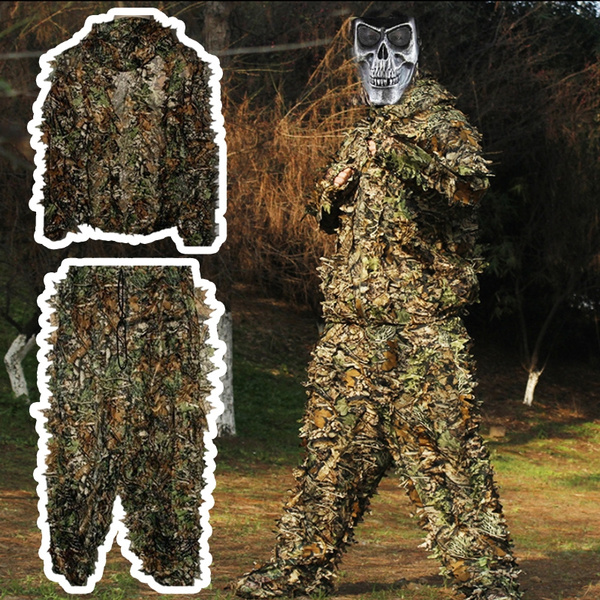 3d forest camouflage clothing