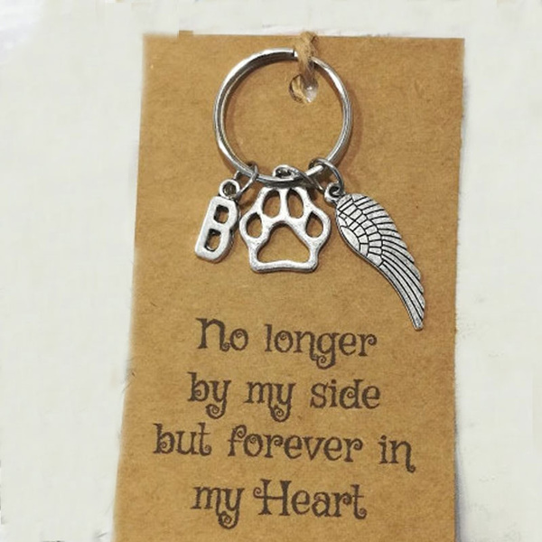 with card initial keyring