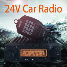 1 Pack 50W High Power 24V Car Radio Singal Band VHF 136 174MHz Or UHF 400 470MHz Walkie Talkie