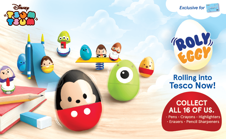 Get All 16 Tsum Tsum Roly Eggy Collectibles Exclusively At Tesco!