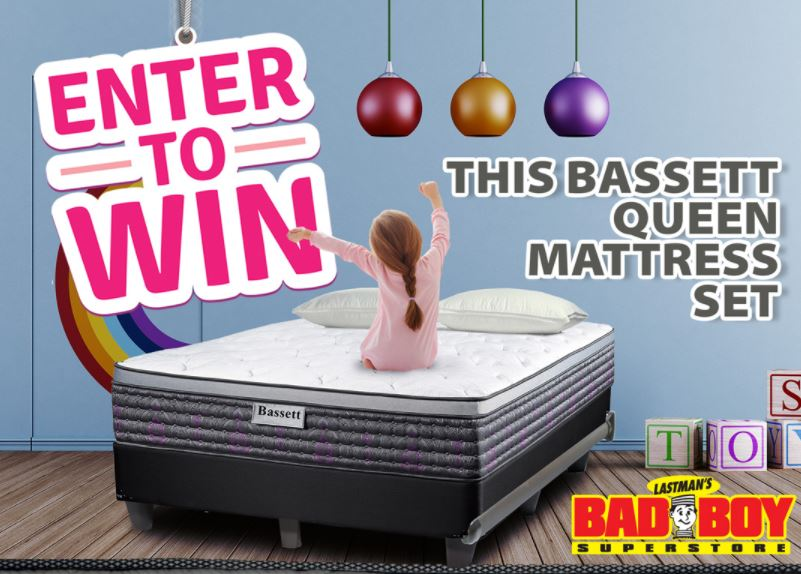 Lastmans Bad Boy Contest Win a Basset Queen Matress set