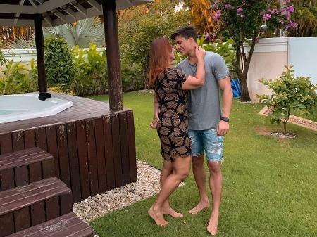 Nadine, mãe de Neymar, assume novo romance com gamer Tiago Ramos - Reprodução/Instagram