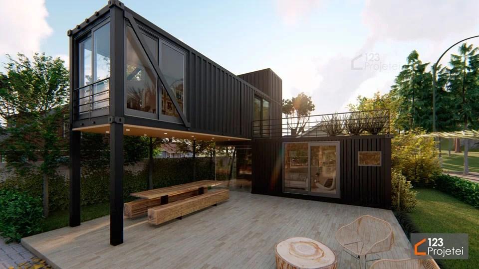 Read more about the article Casa Container: saiba as vantagens e tipos existentes