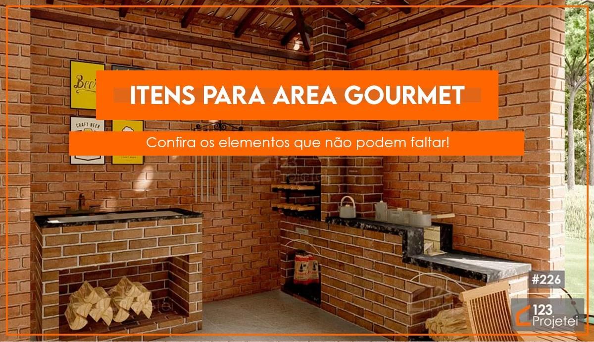 Read more about the article Itens da área gourmet que não podem faltar no seu projeto