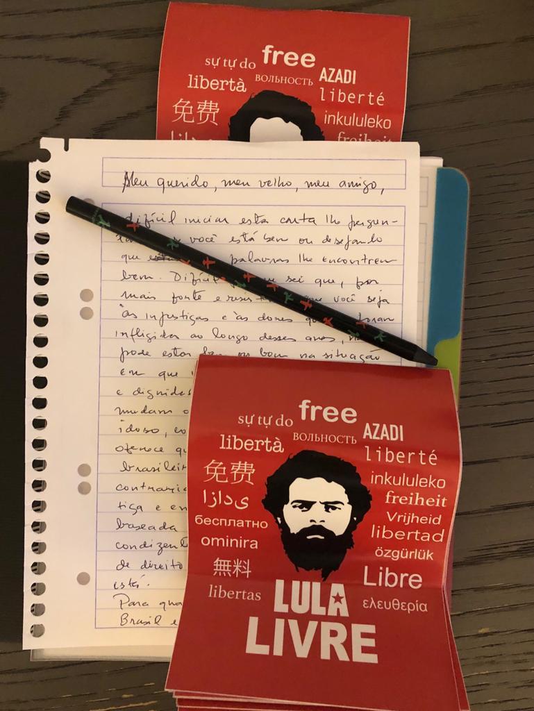 free lula - 'MEU QUERIDO, MEU VELHO, MEU AMIGO': escrevo-lhe esta carta do exílio que me impus para escapar da morte violenta - Por Jean Wyllys