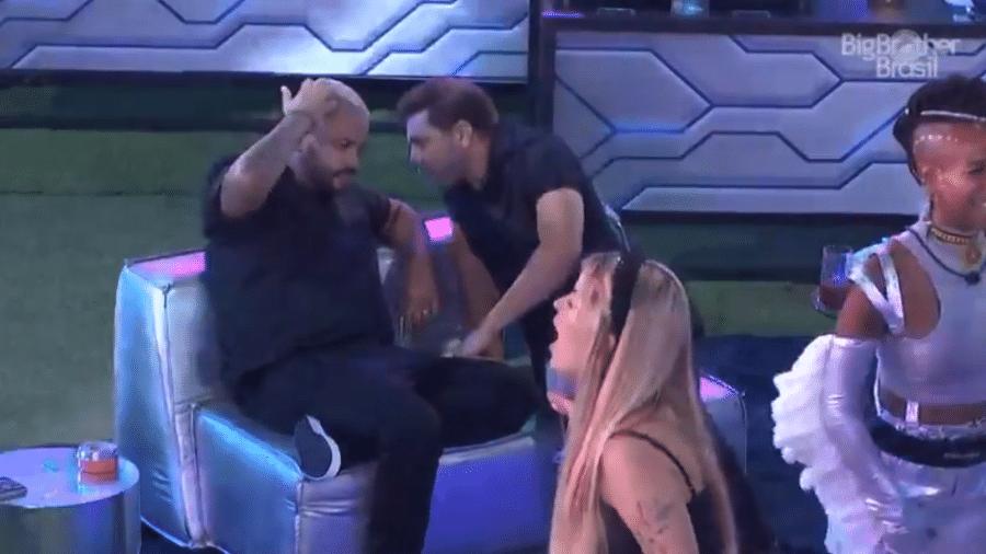BBB 21: Projota e Caio falam sobre Gilberto - Reprodução/Globoplay