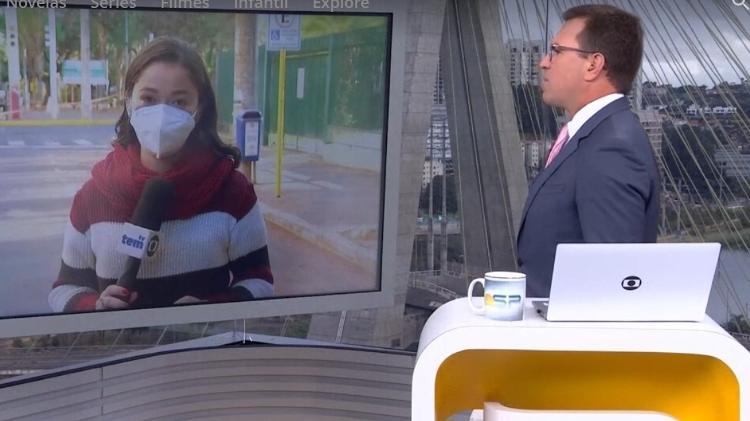 Rodrigo Bocardi - Reproduction/TV Globo - Reproduction/TV Globo
