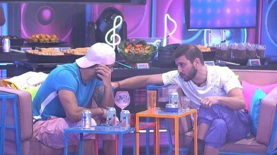 BBB 21: Rodolffo e Caio falam em votação para Gilberto - Reprodução / Globoplay - Reprodução / Globoplay