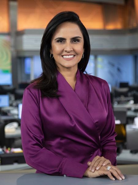 Carla Cecato ainda está fora do ar - Edú Moraes/RecordTV