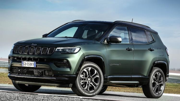 Jeep Compass 2022 Front length - Press Release - Press Release