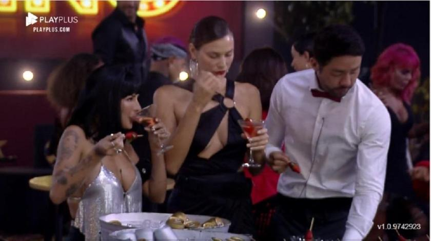The Farm 2021: Dayane at the casino party - Reproduction/Playplus