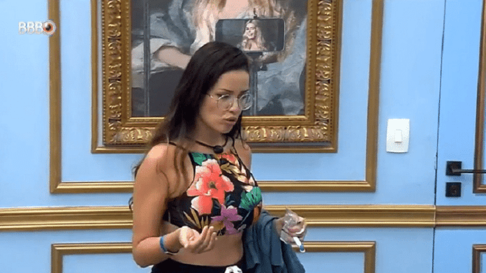 BBB 21: Juliette says she caused a lot of weather by wanting to with Viih Tube and Thaís
