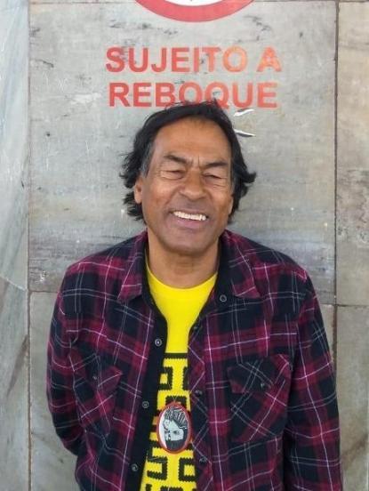 """Aílton Krenak é um dos poetas na antologia """"Poesia indígena hoje"""" - Acervo Pessoal - Acervo Pessoal"""