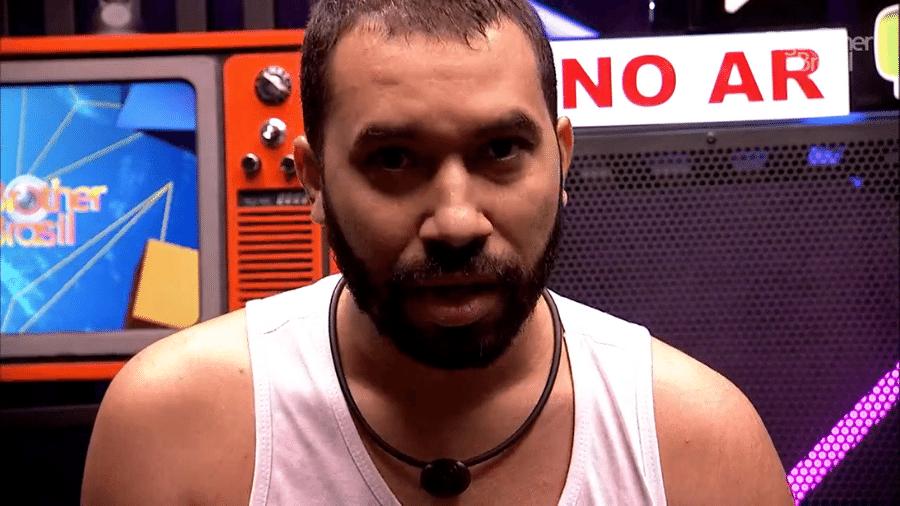 BBB 21: Gilberto desabafou sobre atitude de Lumena em seu raio-x - Reprodução/Globoplay