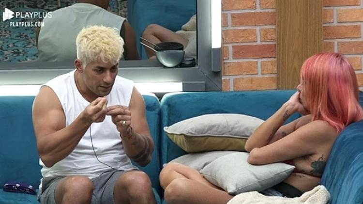 2021 Farm: Tiago explains why Valentina can't call him brother - Reproduction/Playplus - Reproduction/Playplus