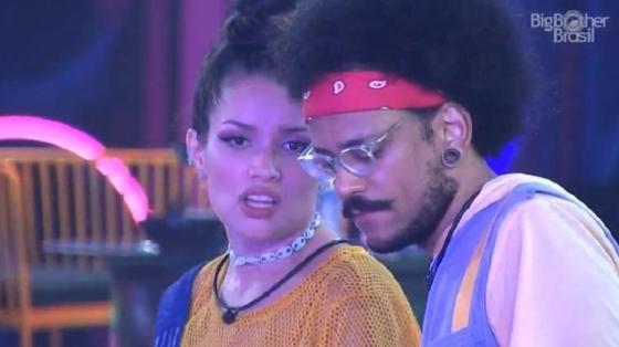 BBB 21: Juliette e João Luiz falam sobre Gilberto - Reprodução / Globoplay - Reprodução / Globoplay