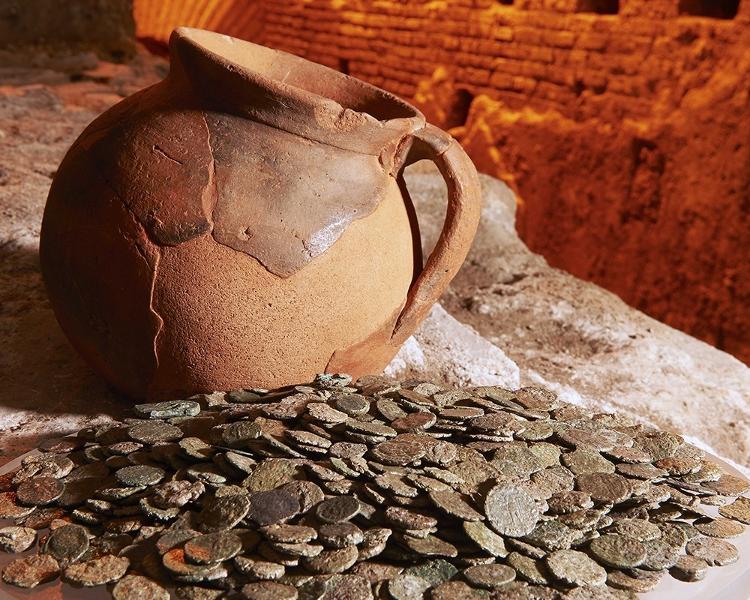 Vicus Caprarius, archaeological site under the Trevi Fountain (7) - Press Release/Vicus Caprarius - Press Release/Vicus Caprarius