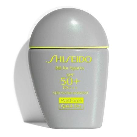 Protetor solar com cor BB For Sports, Shiseido. R$299 - Divulgação - Divulgação