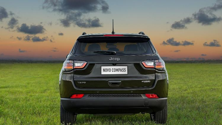 Jeep Compass 2022 Rear length - Press Release - Press Release