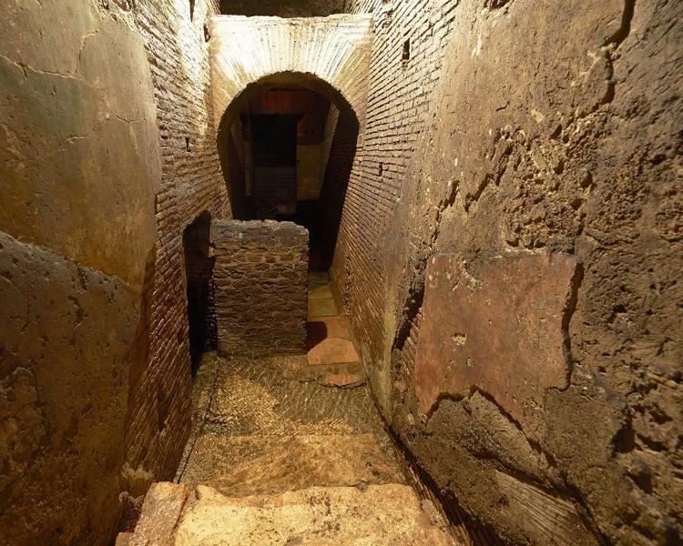 Vicus Caprarius, archaeological site under the Trevi Fountain (5) - Press Release/Vicus Caprarius - Press Release/Vicus Caprarius