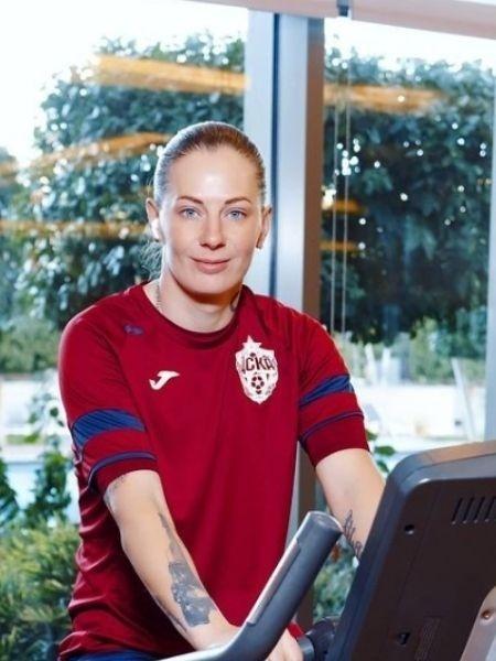 Elvira Todua, goleira do CSKA e da seleção russa de futebol - Reprodução/Instagram