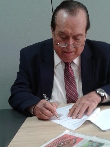 Dalmo Pessoa, jornalista - Luis Augusto Simon/UOL