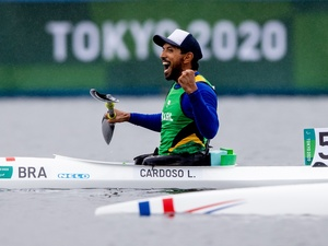 Luís Carlos Cardoso, from Paralympic Canoeing - Miriam Jeske/CPB - Miriam Jeske/CPB