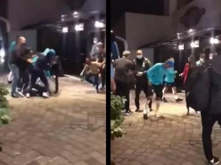 Fãs furam segurança e derrubam Neymar na entrada de hotel em Porto Alegre -  03/06/2021 - UOL Esporte