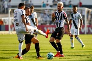 Santos saiu perdendo, mas empatou o jogo ainda no primeiro tempo em Campinas