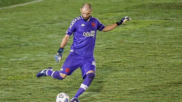 Goalkeeper Vanderlei, Vasco - NAYRA HALM/FOTOARENA/ESTADÃO CONTENTS - NAYRA HALM/FOTOARENA/ESTADÃO CONTENTS